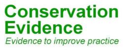 logo: Conservation Evidence