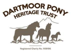 Logo: Dartmoor Pony Heritage Trust