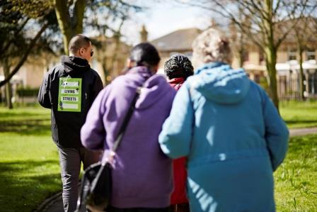Living Streets' work helps enable and encourage  people of all ages to walk more (Living Streets)