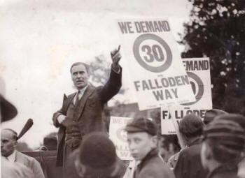 Tom Foley set up Living Streets back in 1929,  under its original name of the Pedestrians  Association (Living Streets)
