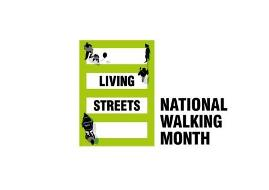 Logo: Living Streets - National Walking Month