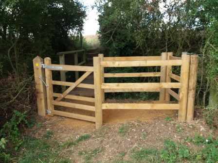 Kissing gate near Glemsford (Dedham Vale AONB)