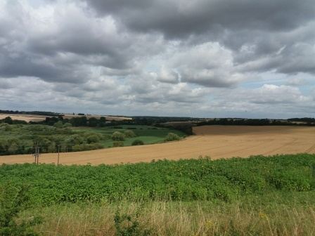 View near Kedington (Dedham Vale AONB)