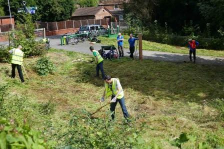 Fallowfield volunteers (Credit Ian Barker)