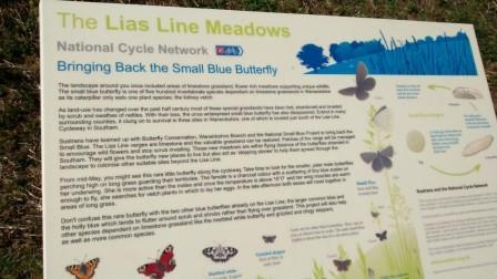 Lias Line Signage (Sustrans)