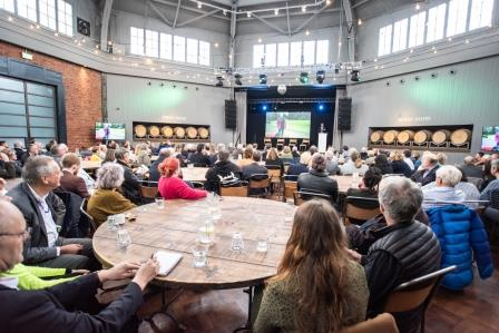 Urban Green Newcastle launch event at Wylam Brewery in Exhibition Park (The Bigger Picture)