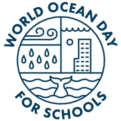 Logo: World Ocean Day for Schools