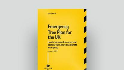 Emergency Tree Plan for the UK (Woodland Trust)