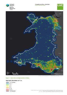 Wales dark skies