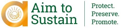 logo: Aim to Sustain