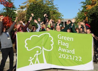 (image: Green Flag Award)
