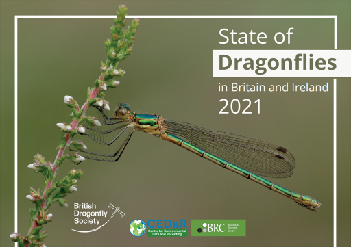 State of Dragonflies in Britain & Ireland front cover