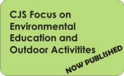 CJS Focus on Environmental Education and Outdoor Activities - now published