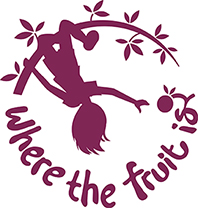Logo: Where the Fruit Is