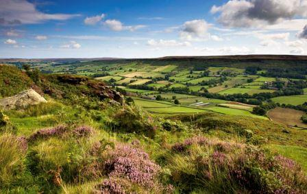 View over the North York Moors by Mike Kipling