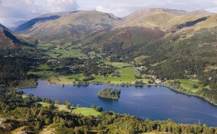 Looking down at a lake in the Lake District (Campaign for National Parks)