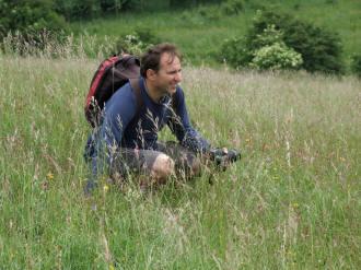 Joe Costley, Plantlife's Reserves Manager