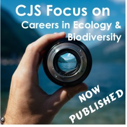 Image: CJS Focus on Careers in Ecology & Biodiversity - now published