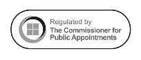 Logo: Regulated by the Commissioner for Public Appointments