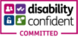Logo: Disability Confident Committed