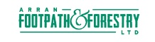 Logo: Arran Footpaths & Forestry Ltd