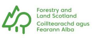 Logo: Forestry and Land Scotland