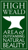 Logo High Weald AONB