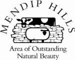 Logo: Mendip Hills AONB
