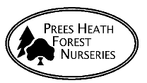 Logo: Prees Heath Forest Nurseries