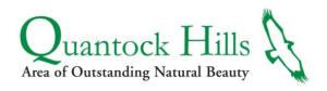 Logo: Quantock Hills AONB