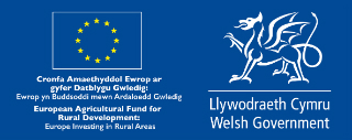 Logo: Welsh Government - The European Agriculture Fund for Rural Development