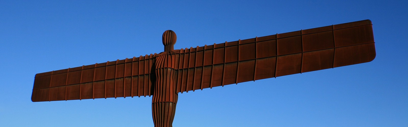 the Angel of the North (image: Patrick Routeledge / pixabay)